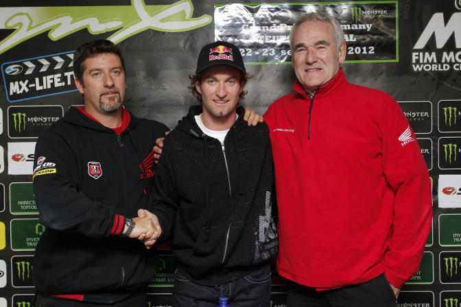Макс Нагль будет выступать за Honda World Motocross