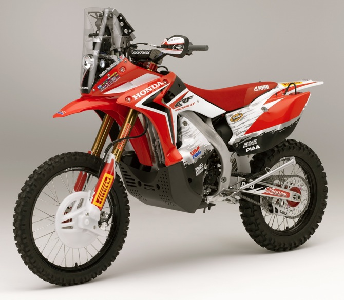 Honda CRF450Rally