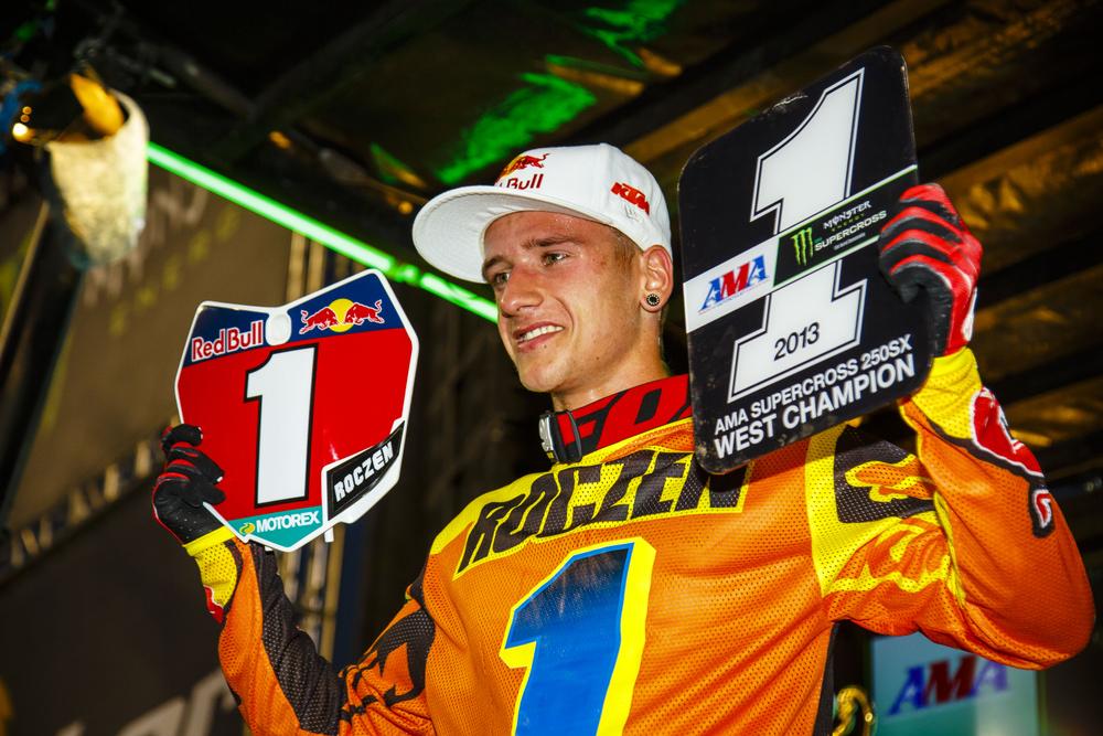 Кен Рокзен - Чемпион AMA 250 West Supercross