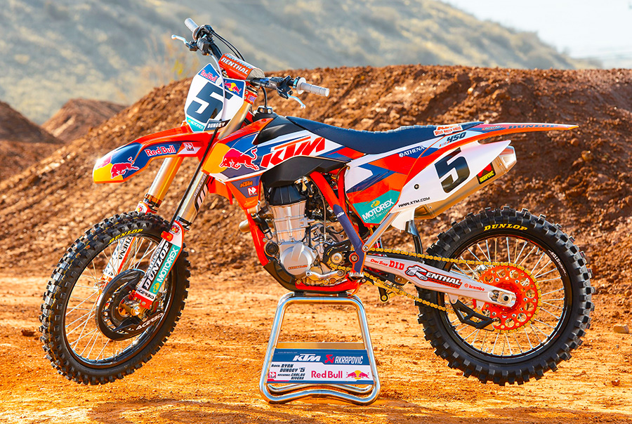 KTM 450SXF Factory Edition 2014